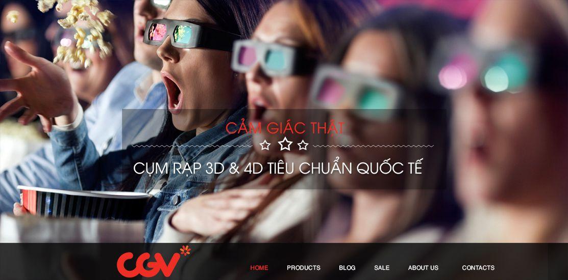 Website - Rạp chiếu phim, ca nhạc