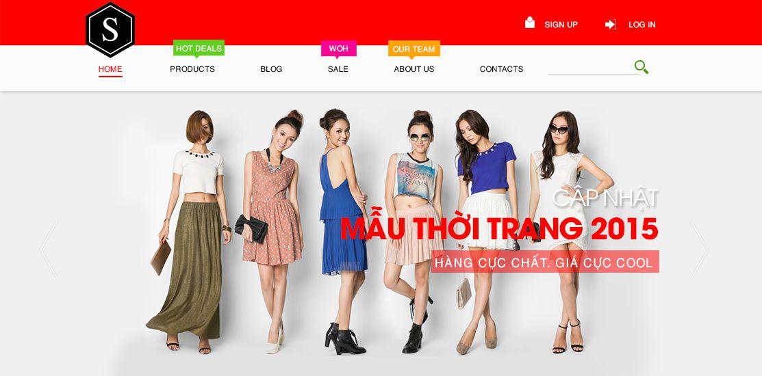 Website - Thời trang