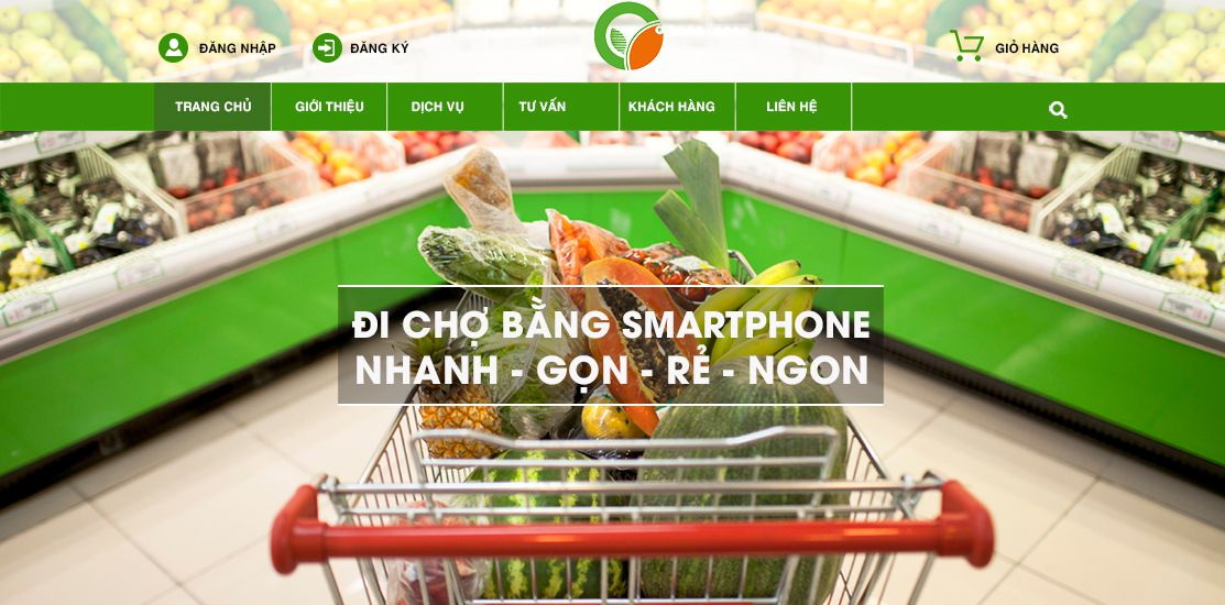 Website - Thực phẩm