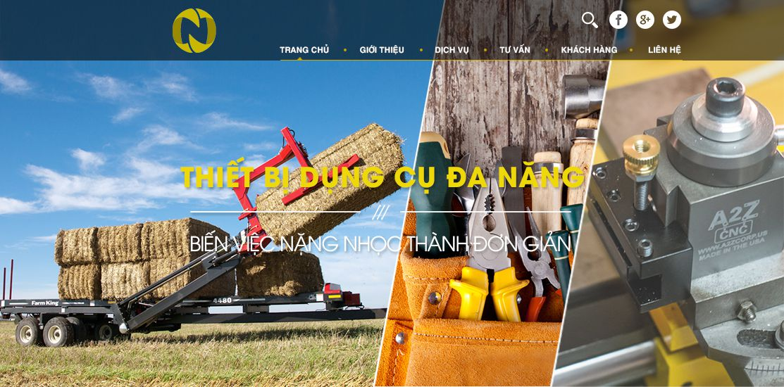 Website - Công cụ, dụng cụ