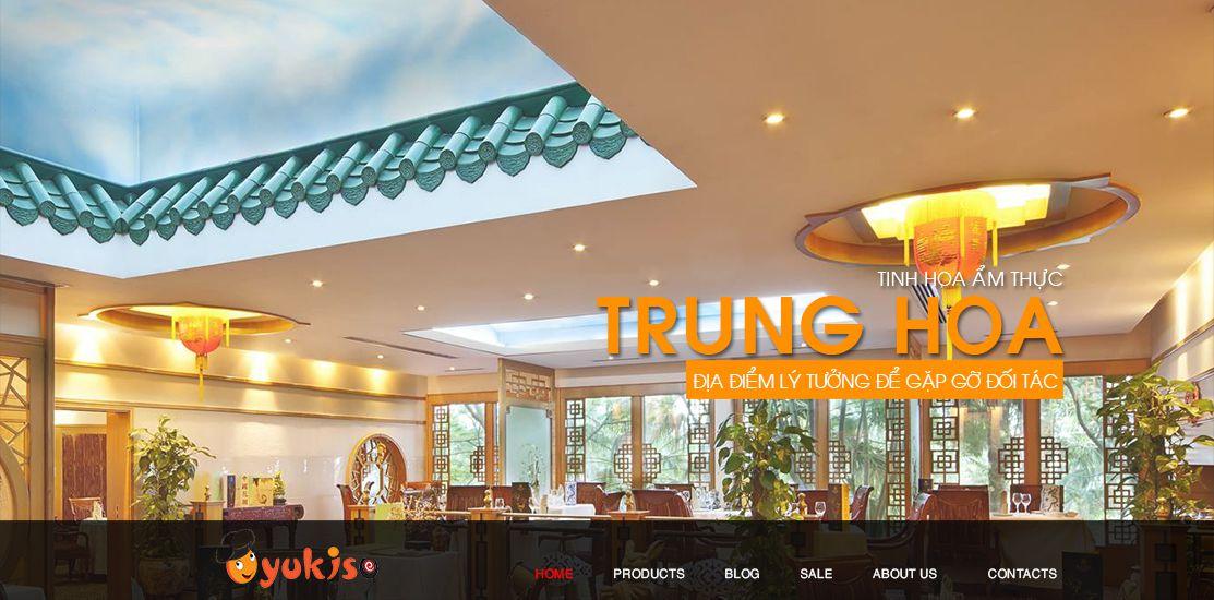 Website - Nhà hàng