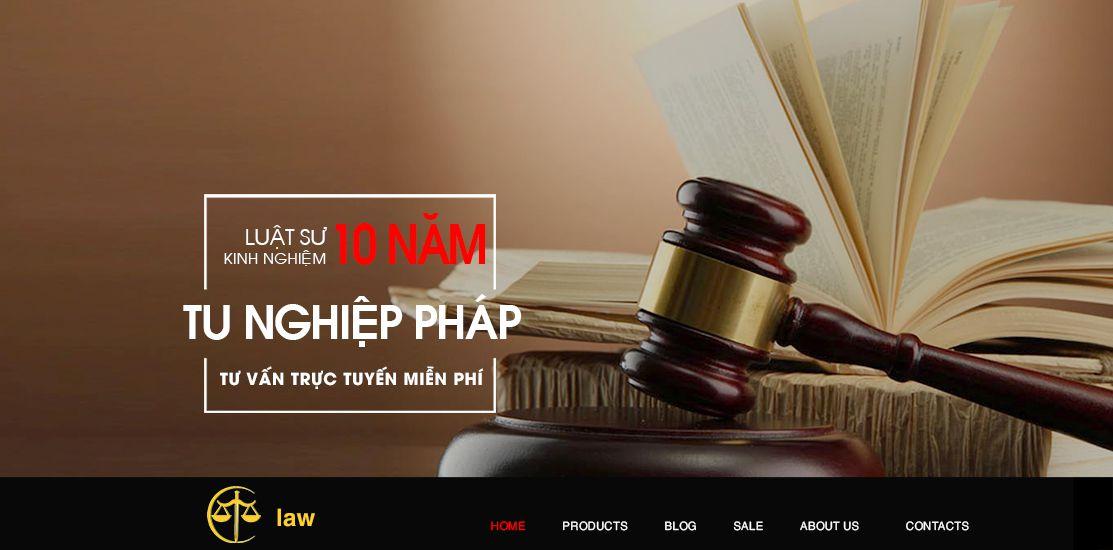 Website - Tư vấn luật