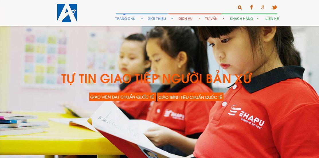 Website - Trung tâm đào tạo