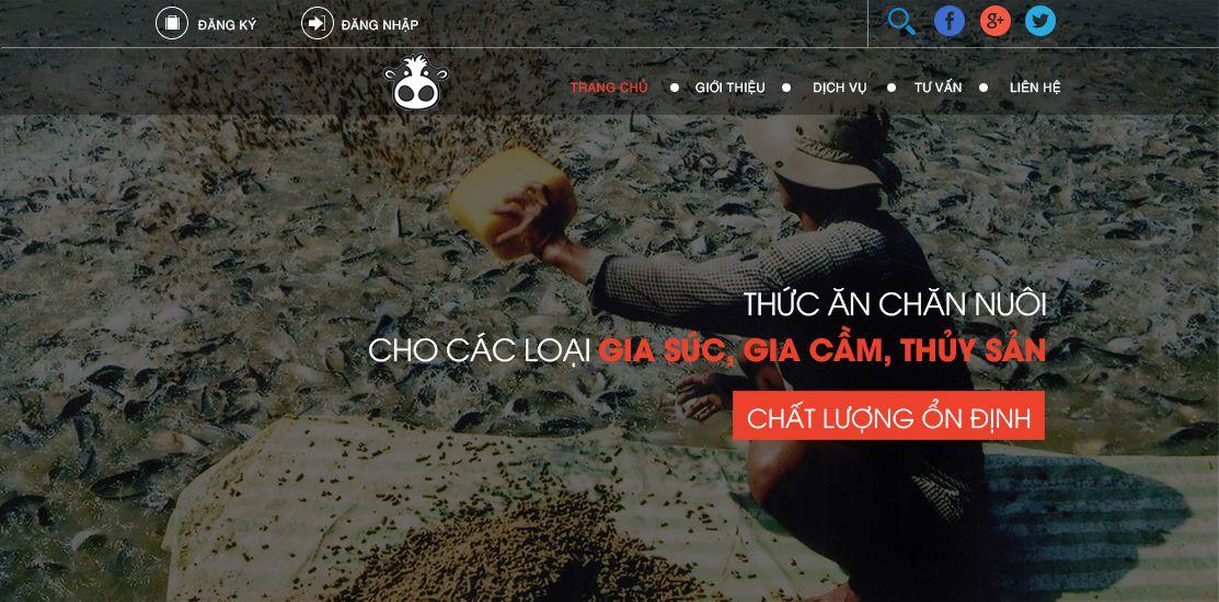Website - Thức ăn chăn nuôi