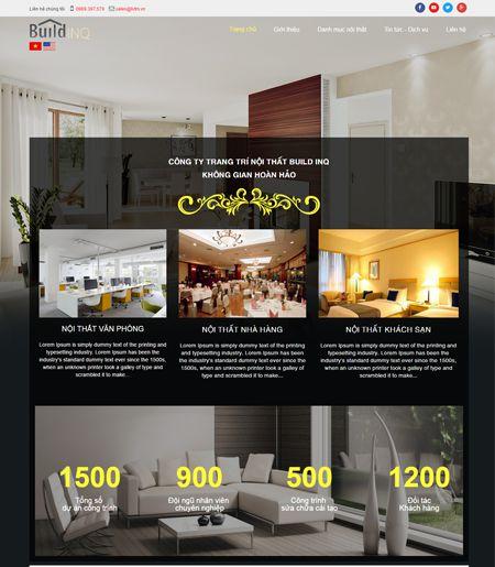 Website - Trang trí nội thất