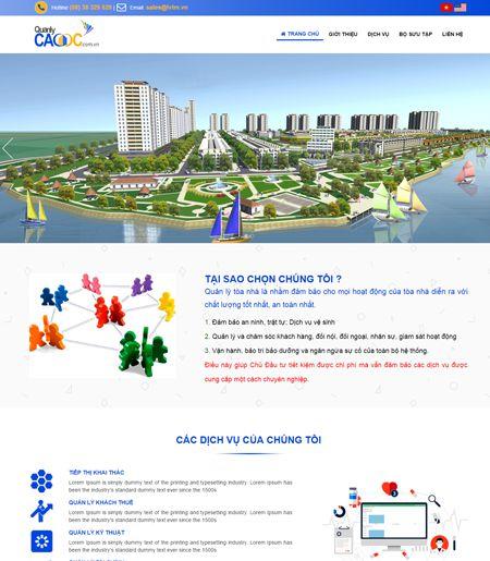 Website - Quản lý cao ốc (văn phòng)