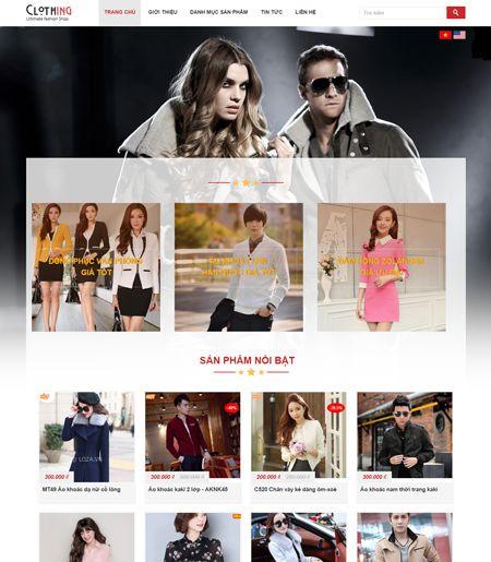 Website - Bán hàng thời trang