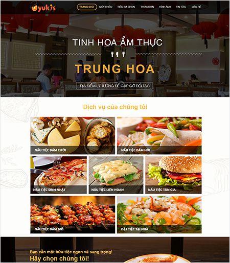 Website - Nhà hàng & Quán ăn