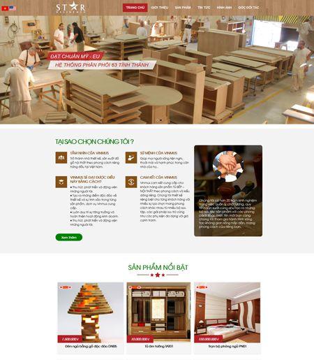 Website - CTY Sản xuất đồ gỗ