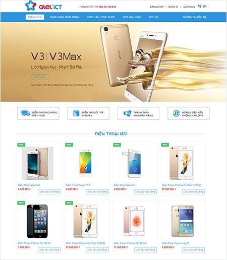 Website - Điện thoại & Phụ kiện