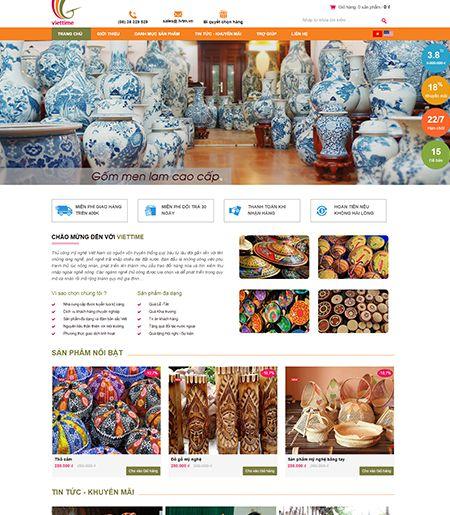 Website - Bán hàng mỹ nghệ