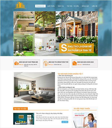 Website - Thiết kế nội ngoại thất