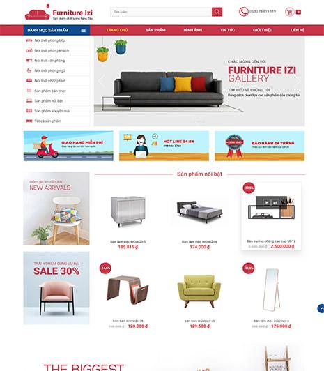 Website - Sản phẩm nội thất
