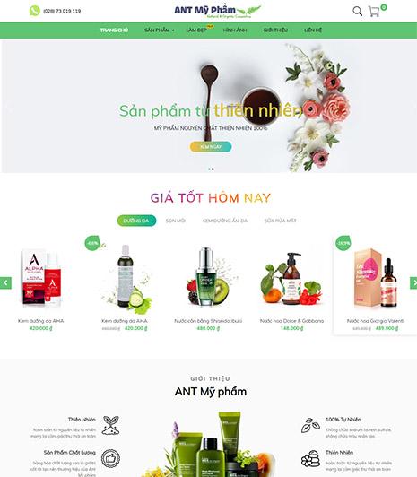 Website - Shop mỹ phẩm