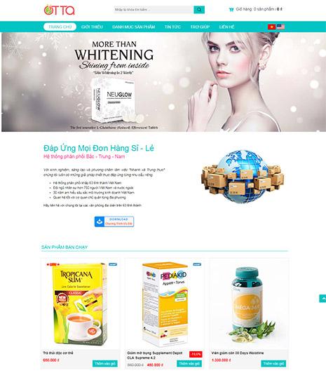 Website - Thực phẩm chức năng