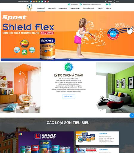 Website - Bán hàng sơn nội thất