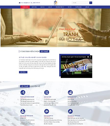 Website - Dịch vụ kế toán thuế