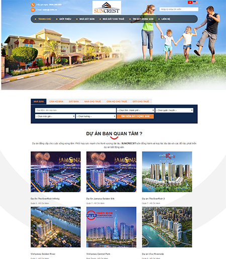 Website - Bất động sản