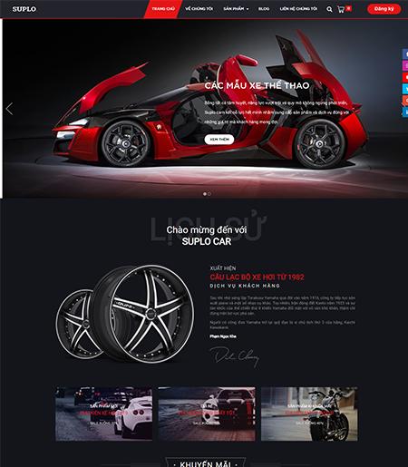 Website - Bán hàng ô tô